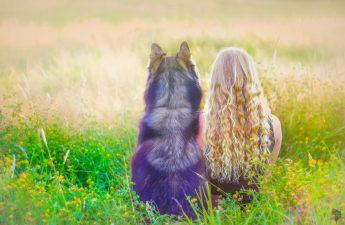 dog and I